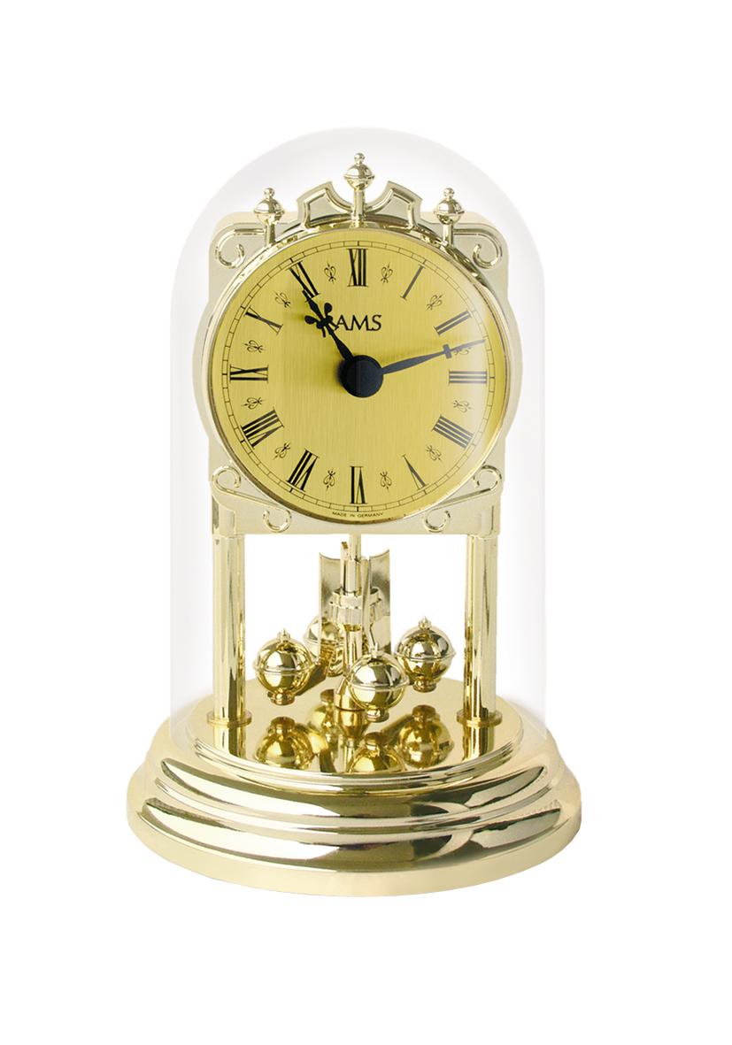 AMS Jaarpendule met kwarts uurwerk Blanche