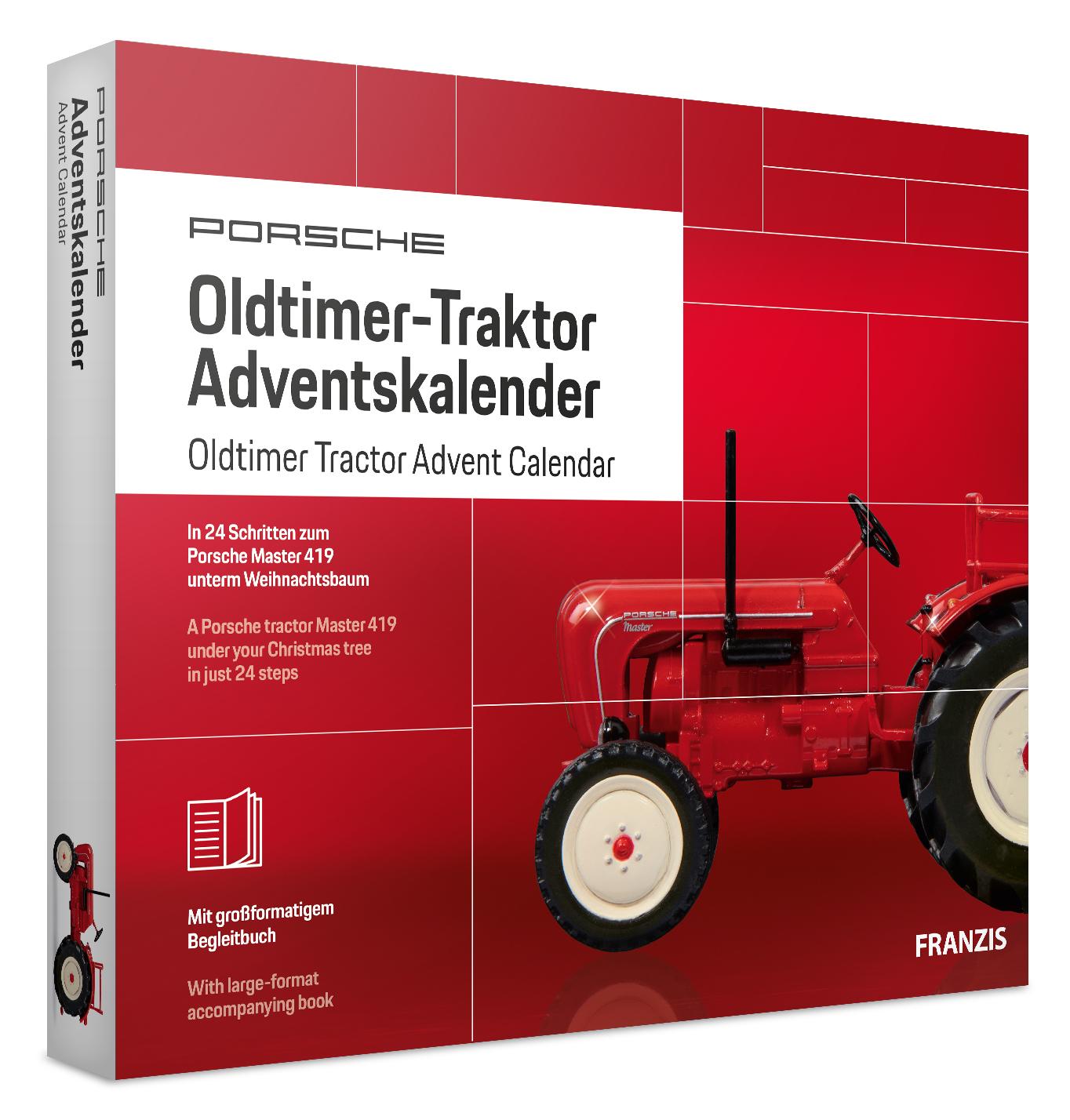 Adventskalender Oldtimer Traktor