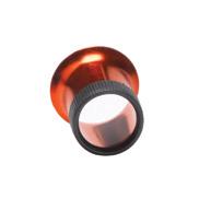 Loep rood van geanodiseerd aluminium, vergroting 5,0x