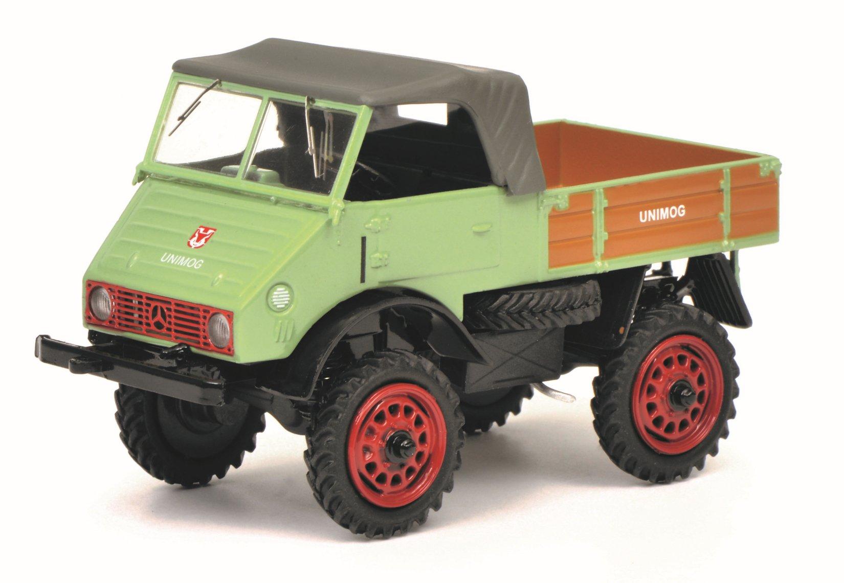Schuco model Unimog 401 - 1:43
