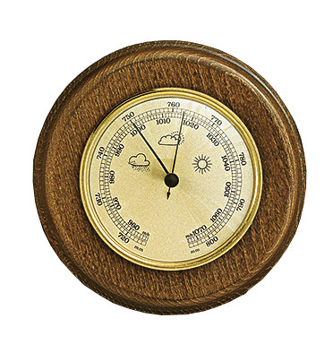 Barometer Made in Germany, Eikenhout