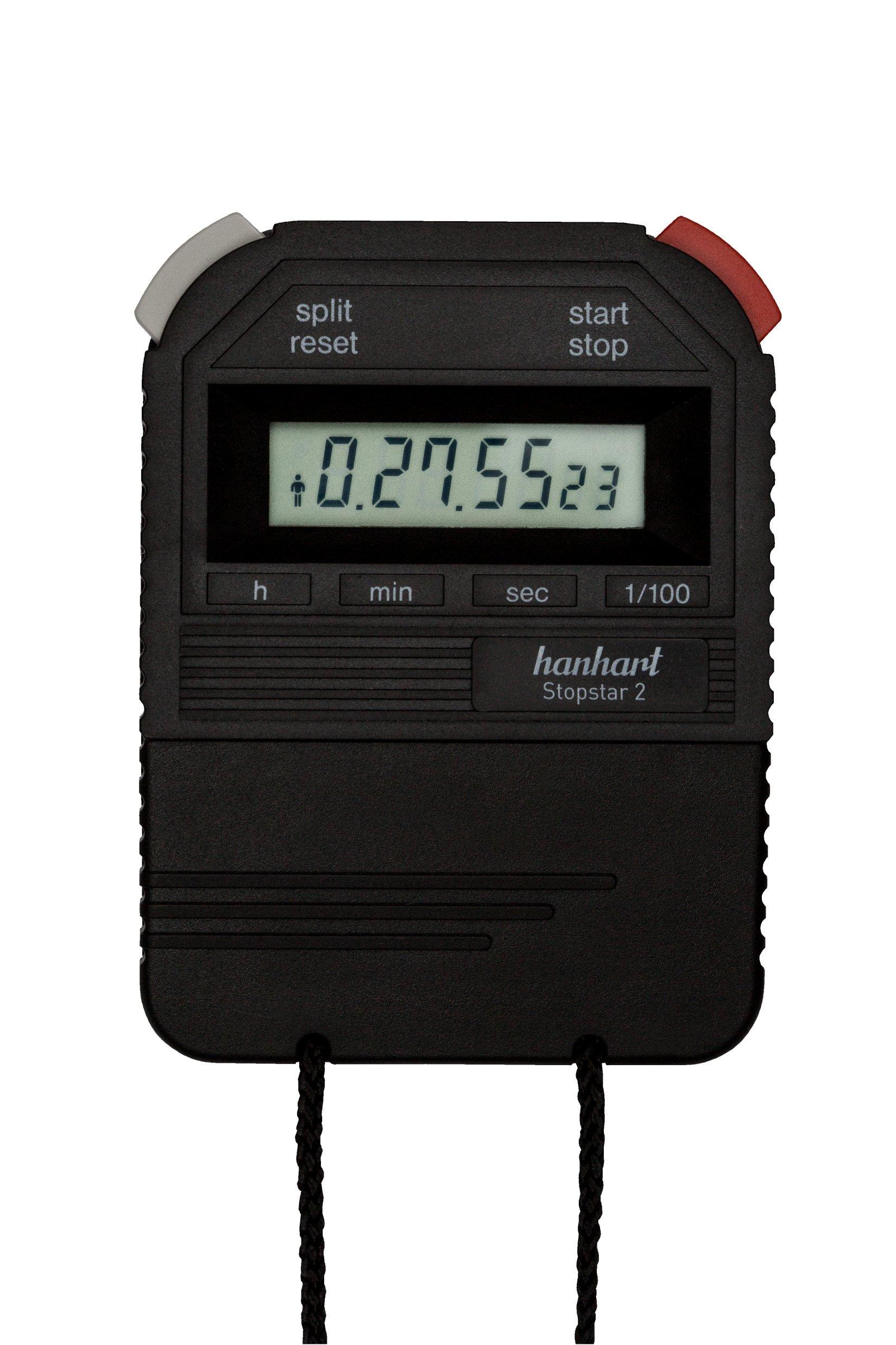 Hahnhart stopwatch met 2 toetsen bediening