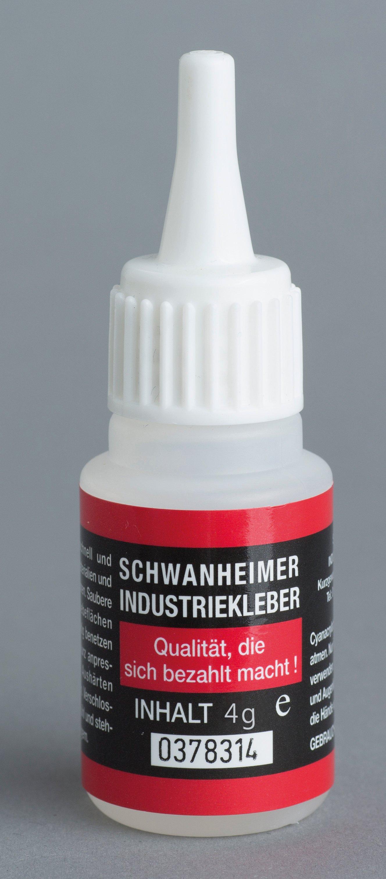 Schwanheimer industriële lijm 4g