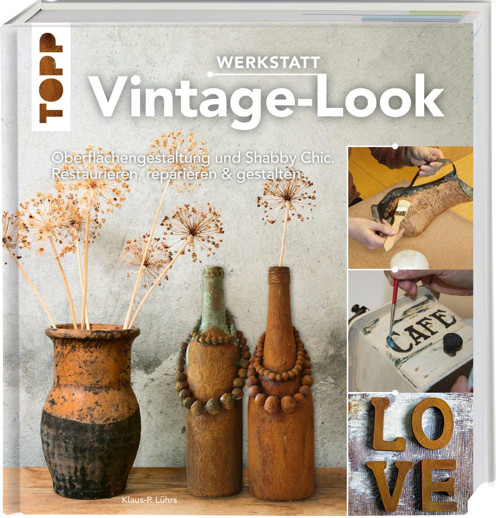 Boek vintage look