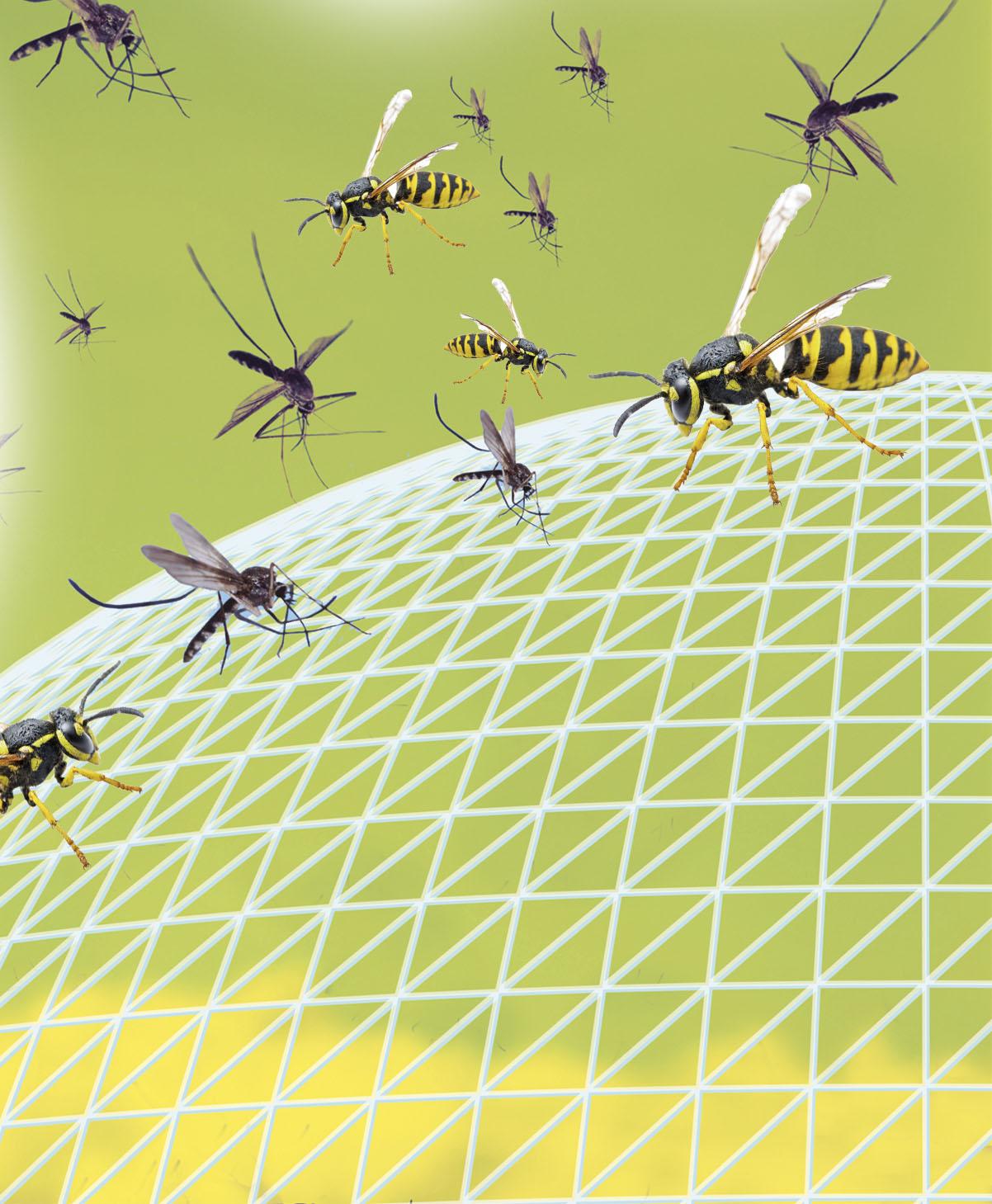 Vervangende tabletten voor insectenwerend middel
