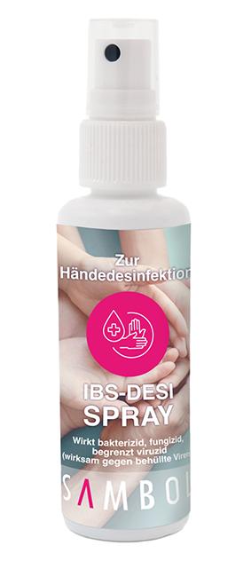 Desinfecterende spray voor de handen, 50 ml - ideaal voor onderweg