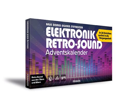 Adventskalender elektronische retro sound