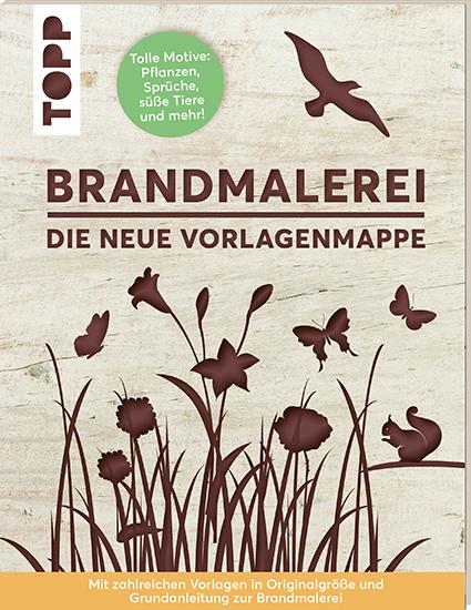 Boek: Pyrography met sjablonen (Duitse editie)