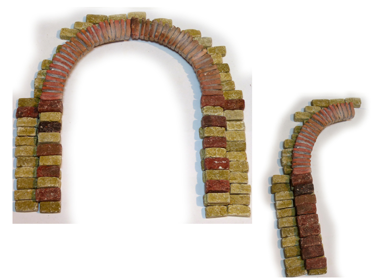 Krippen-Bausatz Genezareth Großer Bogen