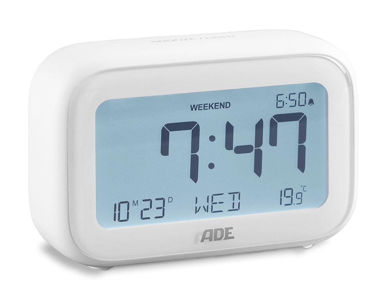 Digitale wekker met temperatuurweergave