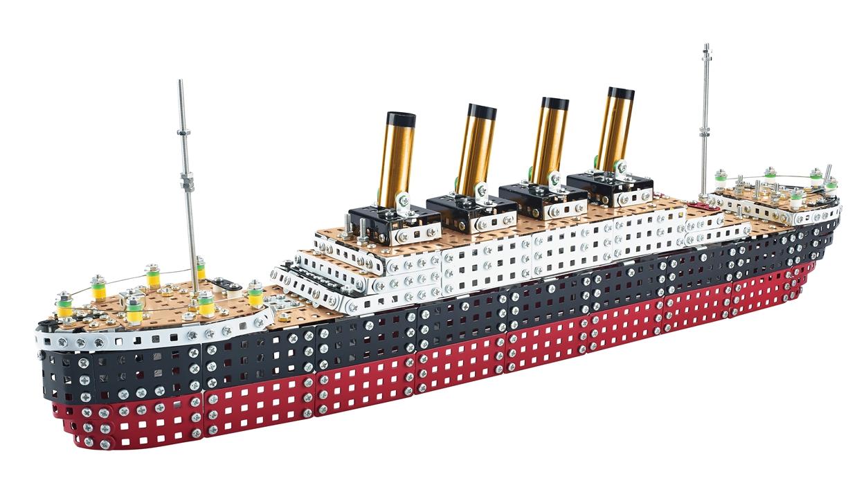 Tronico metaal bouwpakket RMS Titanic