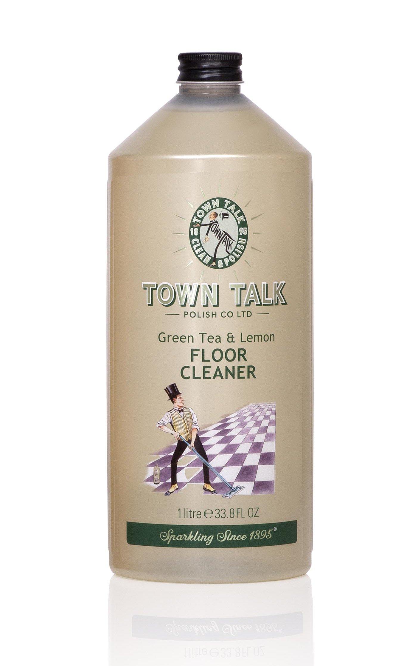 Mr Town Talk Vloerreiniger Green Tea and Lemon, 1 liter