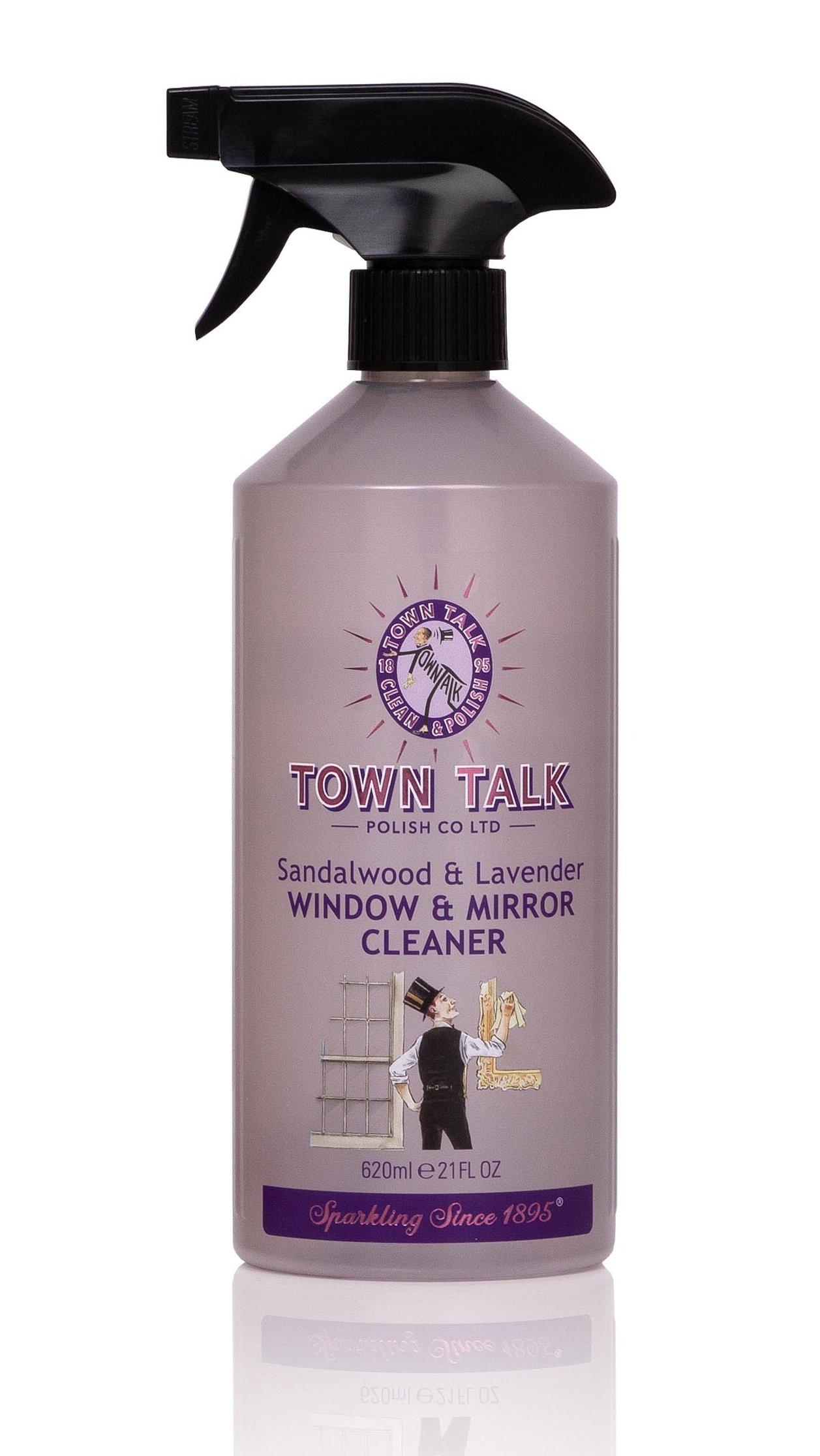 Mr Town Talk glasreiniger sandelhout en lavendel 620ml