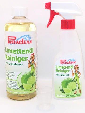 Pastclean Limoenolie reiniger, Concentraat 1 Liter incl. toebehoren