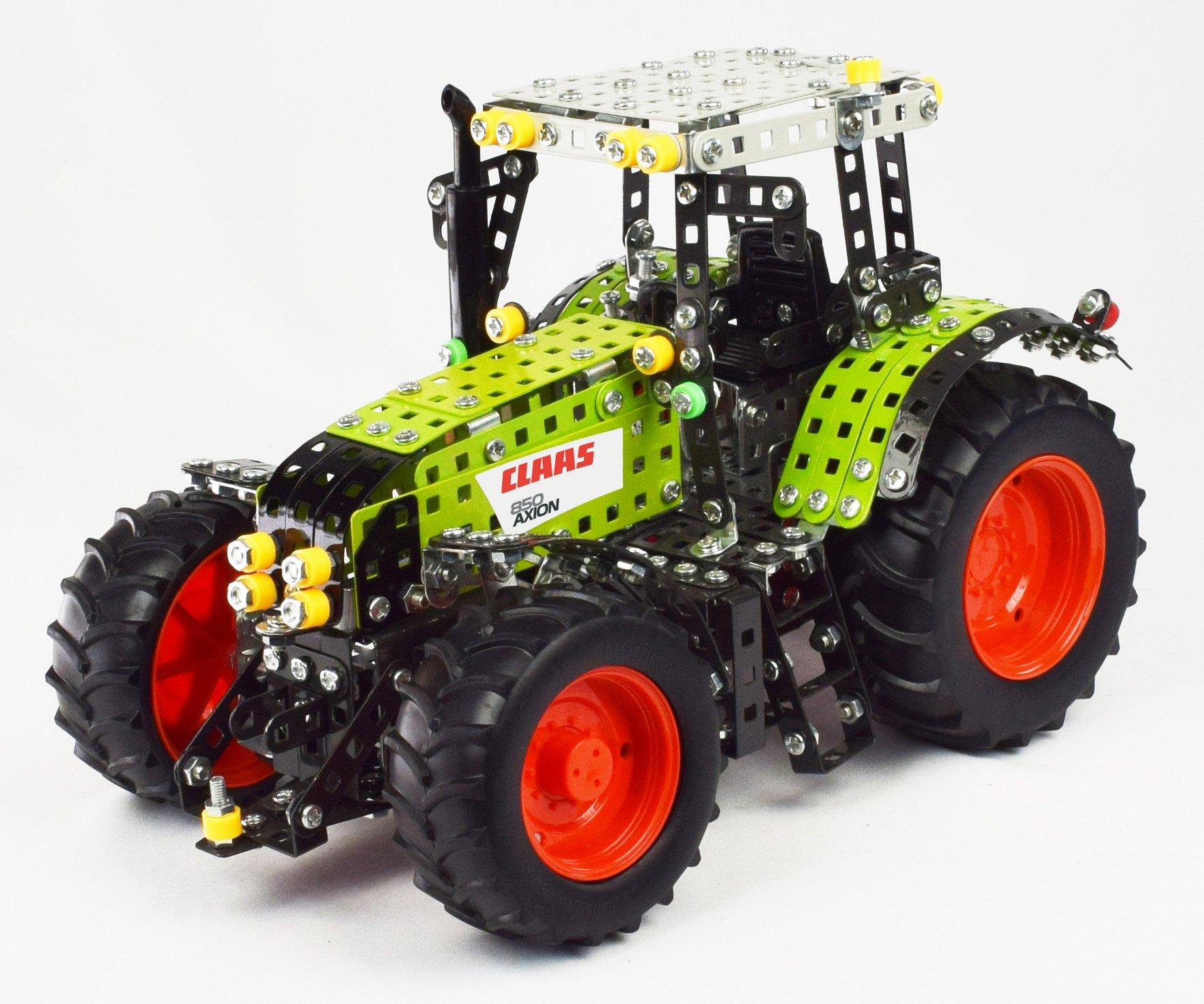Tronico metalen bouwpakket tractor Claas Axion 850