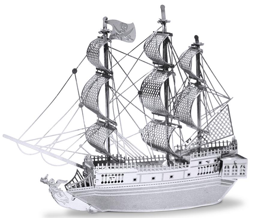 METAL EARTH 3D Bouwset Black Pearl Piratenschip