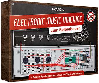 Elektronische muziekmachine set om zelf te bouwen