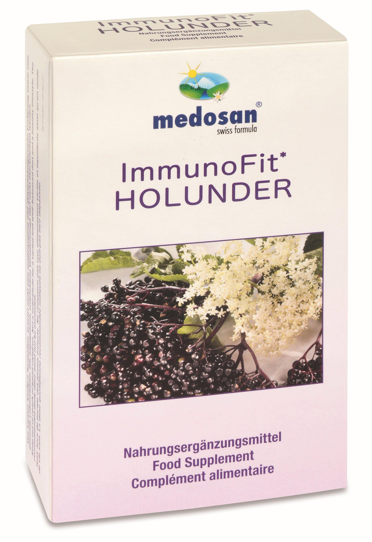 ImmunoFit Vlierbes, 60 capsules - om uw immuunsysteem te versterken