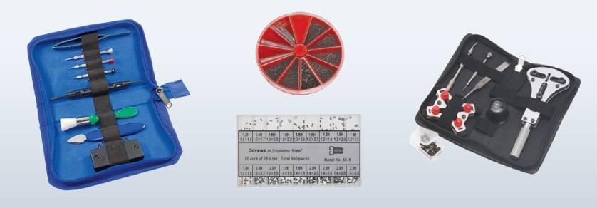 Gereedschapsets voor de uurwerkmaker