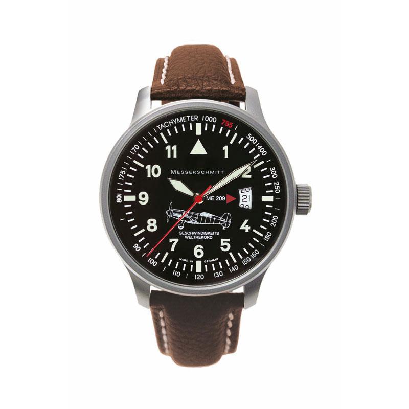 MESSERSCHMITT Men's Aviator Quartz Watch