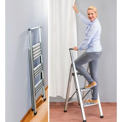 Inklapbare design ladder van aluminium