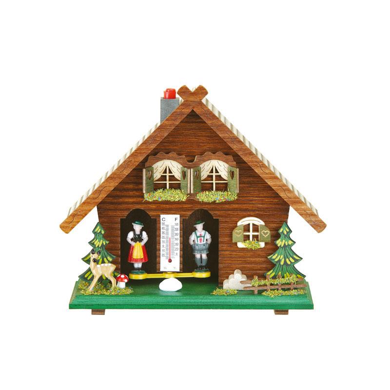 Traditioneel weerhuisje