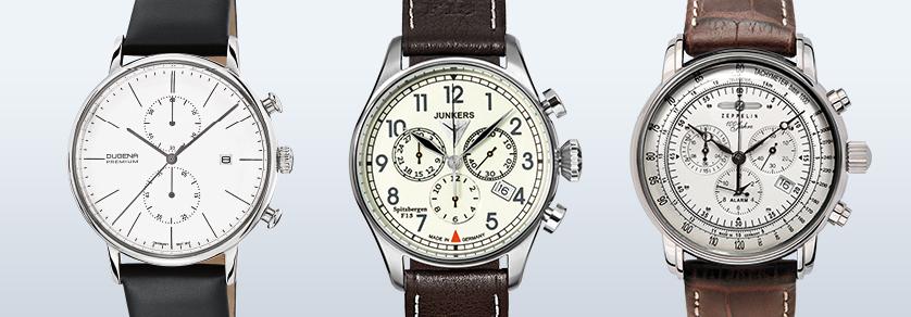 Chronograafen - Quartz uurwerk