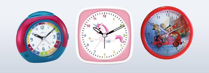 Kinderwekkers en -klokken